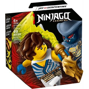 LEGO NINJAGO LEGACY JANE VS SERPENTINE 71732